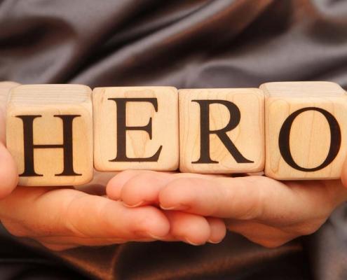 """""""Helden-zorg"""" een nieuw begrip? We zijn allemaal mens en kunnen allemaal een held zijn."""